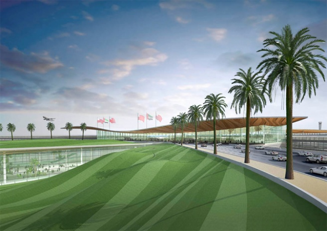 Airport in Abu Dhabi