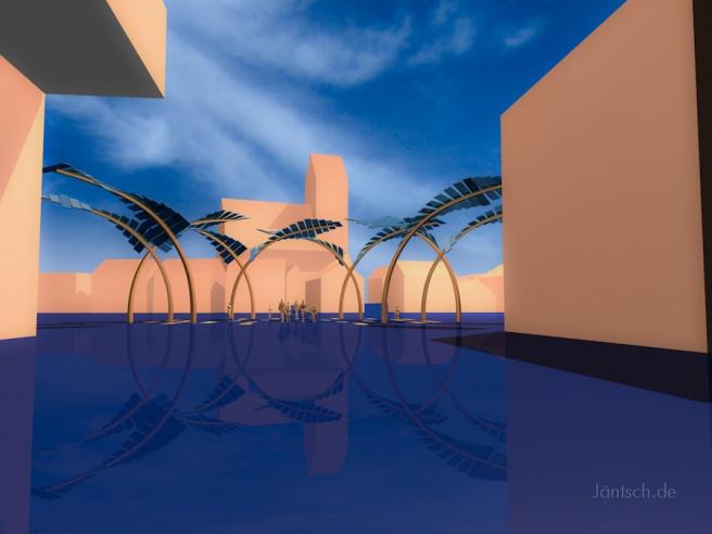 Solar-Palmen